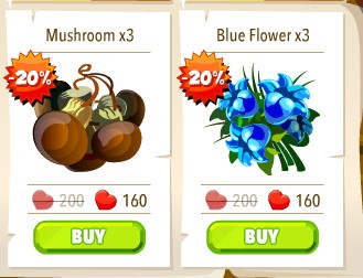 Cheaper flowers and mushrooms http://wp.me/p2Wzyb-56 #happytale