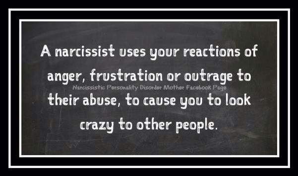 Amen! And the others who deny and ignore the evidence and facts right in front of their face are just as idiotic and sick as the narcissist!!