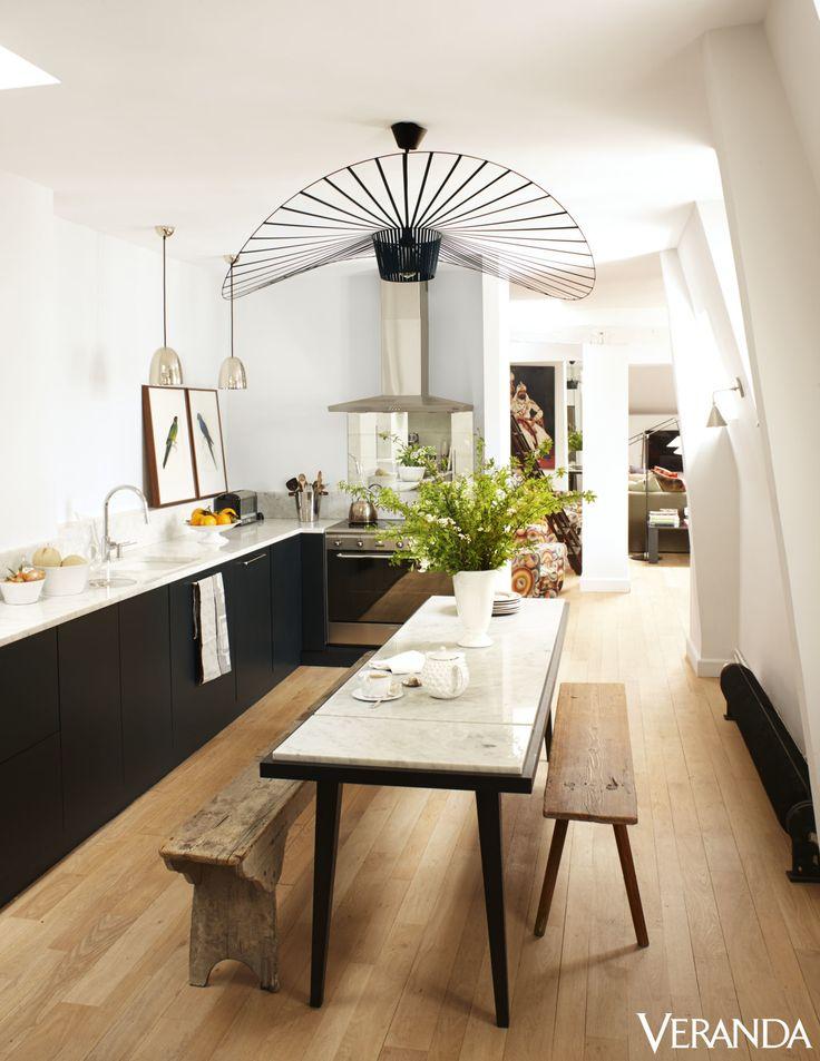 How Pierre Frey Created A Modern, Airy Parisian Apartment  - TownandCountryMag.com