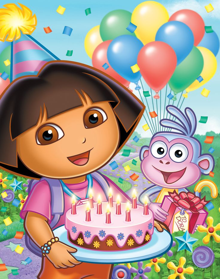 18 best dora images on Pinterest Cartoon characters Dora the