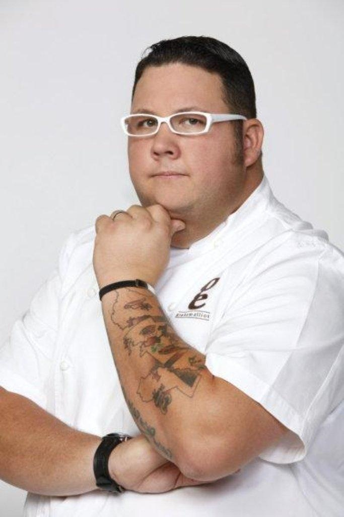 GRAHAM ELLIOT a great chef!