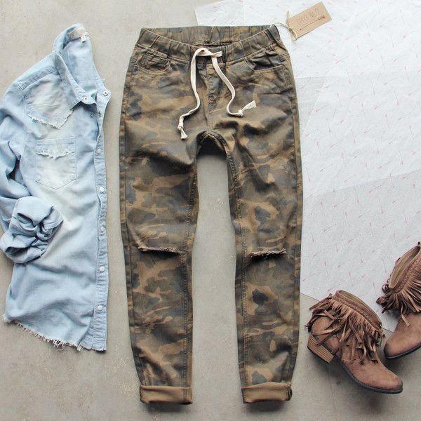 Canyon Sugar Camo Pants