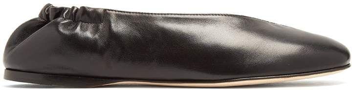 e8aed2acaeb6 ACNE STUDIOS Oddry elasticated-heel leather ballet flats