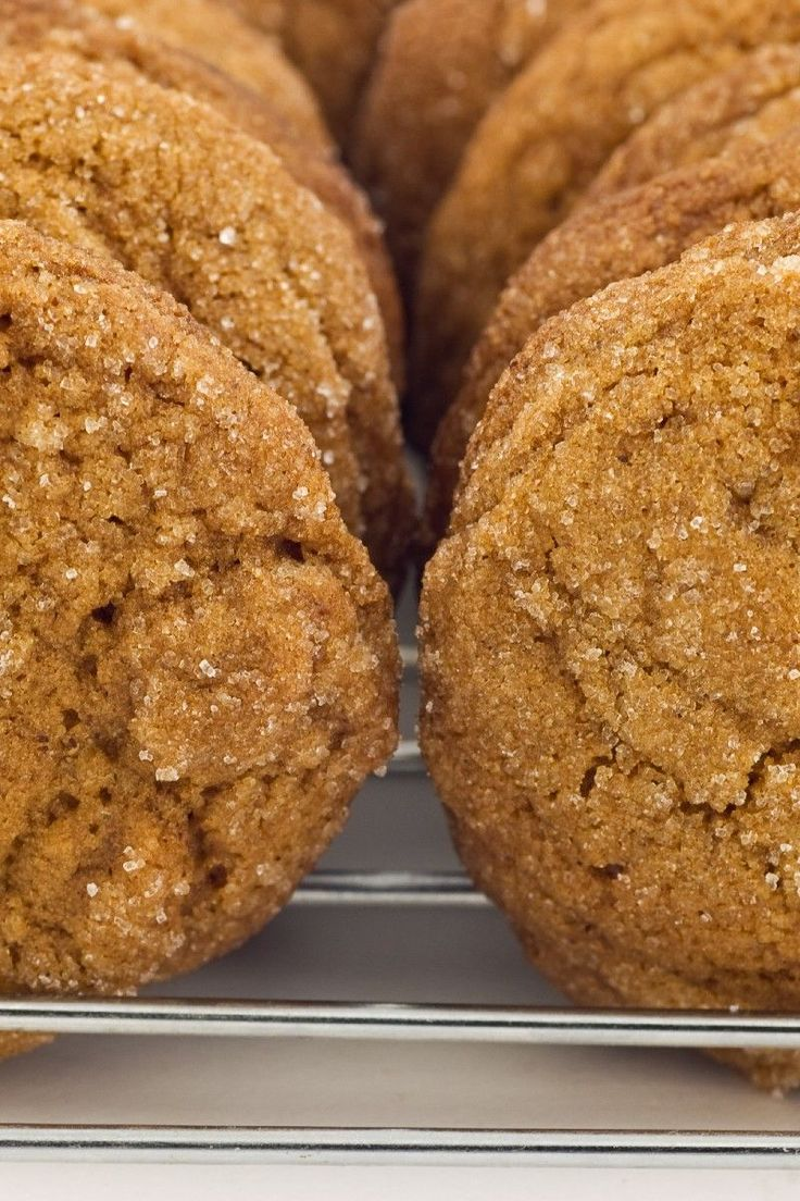 Soft, Spicy, Heavenly Ginger Cookies Dessert #Recipe