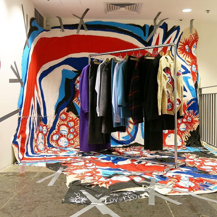 DOVER STREET MARKET NEW YORK Installation By Charles Jeffrey Pinned Ton