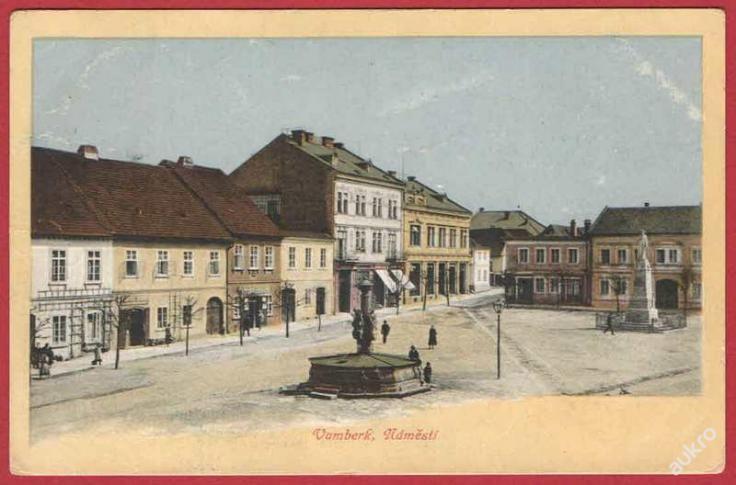 Vamberk * náměstí * Rychnov nad Kněžnou * 3303 (5070049212) - Aukro - největší obchodní portál