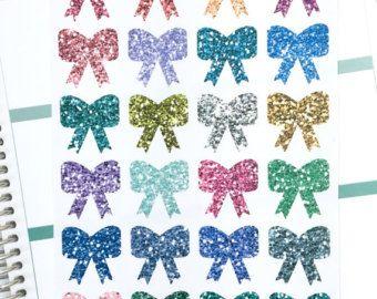 Pegatinas decorativas planificador los arcos | Lindo poco arcos brillo brillante