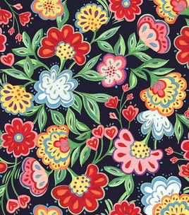 Susan Winget- Painted Rooster Floral & fabric at Joann.com