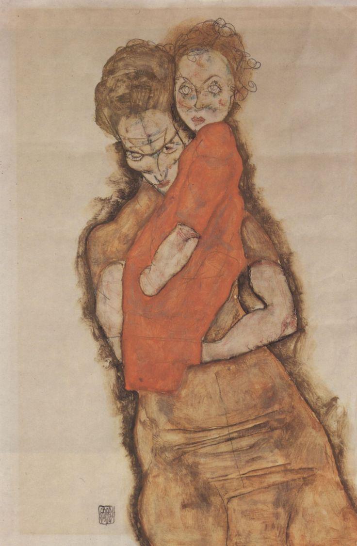 Mutter und Kind - 1914