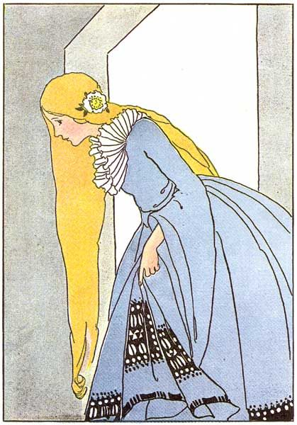 the princess from king thrushbeard, by margaret evans price.   My mother has a Fairy Tale book with all her illustrations, beautiful!