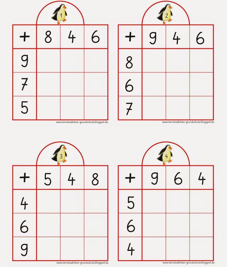 13 best Mathe images on Pinterest | Grundschulen, Vorschule und ...