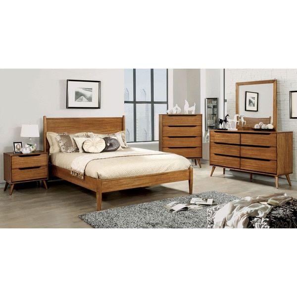 Furniture of America Corrine Mid-Century Modern Queen Bed | Overstock (Atlanta Craigslist link: https://atlanta.craigslist.org/atl/fuo/5921977630.html)