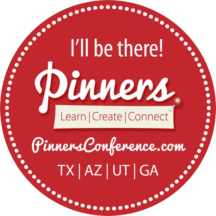 Third time's the charm as I get ready to go to the Pinners Conference here in Salt Lake City that will be held November 4th and 5th, 2016. You should go too!