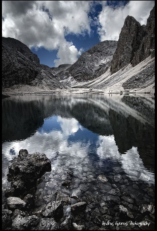 ~~The mirror ~ Lake Antermoia, Italy, Trentino, Dolomites by Andras Gyorosi~~