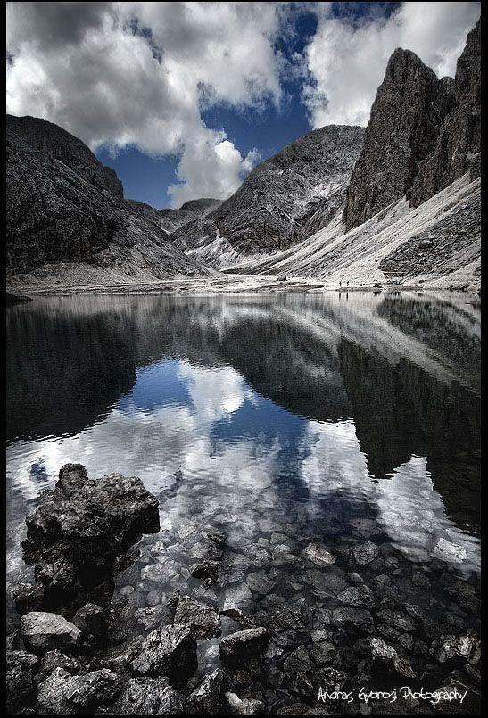 ~~The mirror ~ Lake Antermoia, Italy, Trentino, Dolomites by Andras Gyorosi~~