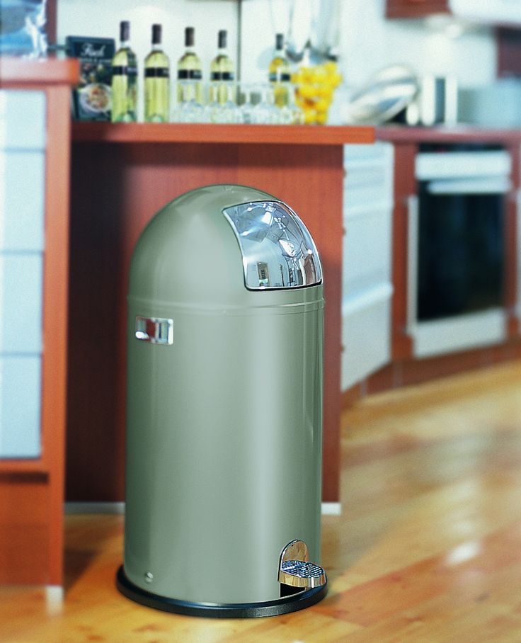 The kickboy is a classic, and our #grey shade will sit in the corner of any #kitchen