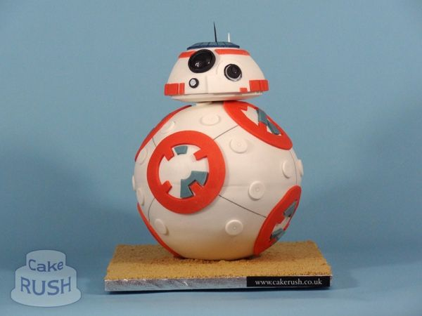 BB-8 Droid From STAR WARS: THE FORCE AWAKENS Gets Its Own Cake — GeekTyrant