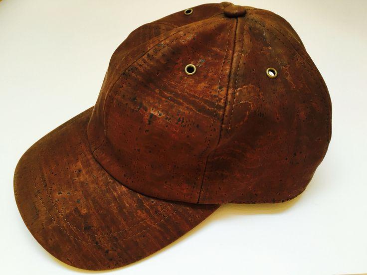 Be cool! Stoere baseball cap van kurk