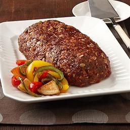 Classic Meatloaf - Recipe | Quakeroats.com  1-1/2 Pound(s) lean ground beef or turkey 3/4 Cup(s) Quaker® Oats(quick or old fashioned, uncooked) 3/4 Cup(s) finely chopped onion 1/2 Cup(s) catsup 1 Egg, lightly beaten 1 Tablespoon(s) Worcestershire sauce or soy sauce 2 Clove(s) Garlic, minced 1/2 Teaspoon(s) Salt 1/4 Teaspoon(s) Black pepper