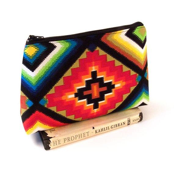 Sedona Medicine Woman Clutch  MakeUp Bag with by pennyroyalty c8cda4907f18a