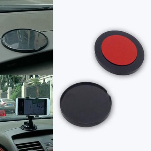 Car Suv Truck Dashboard Suction Cup Adhesive Mounting Disc Pad For Gps Cellphone Other Car/auto/suv/off Road/pickup/mpv/rv/vehicle As Picture Shown China Black Pe Foam Tape + Abs Plastic 1pc