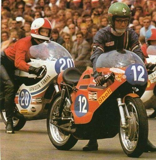 Renzo Pasolini, Jarno Saariner, two champions, two heroes will never forget!. Source: José Antonio Jiménez Partearroyo