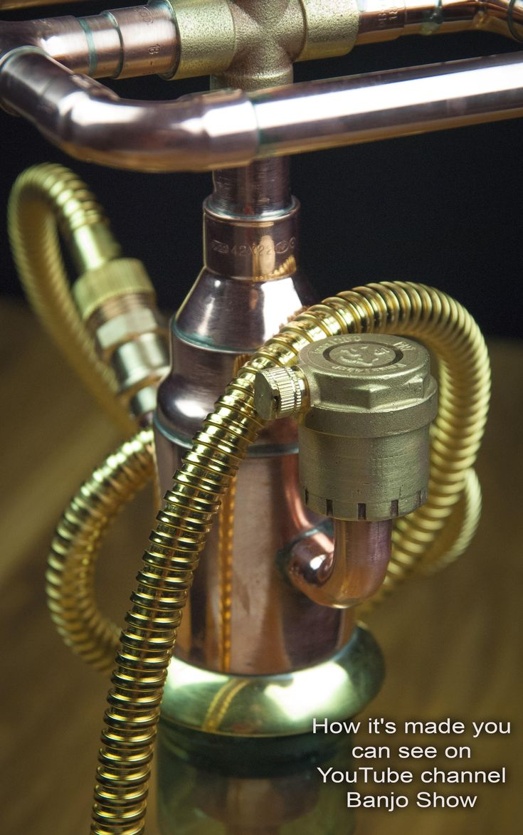 9 best Steampunk DIY Industrial Pipe Lamp #3 images on ...