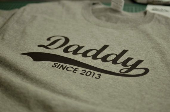 Welcome to LP t shirts!    The Daddy shirt is the perfect personalized gift.  This Daddy shirt works perfectly as a Fathers Day gift, birthday gift or