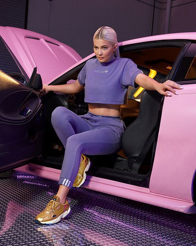f09cb9c9f40 Kylie Jenner for Adidas Coeeze apparel and Falcon footwear • #kylie #kingky  #kingkylie #kyliejenner #kuwtk #kylizzle #jenner #lifeofkylie…