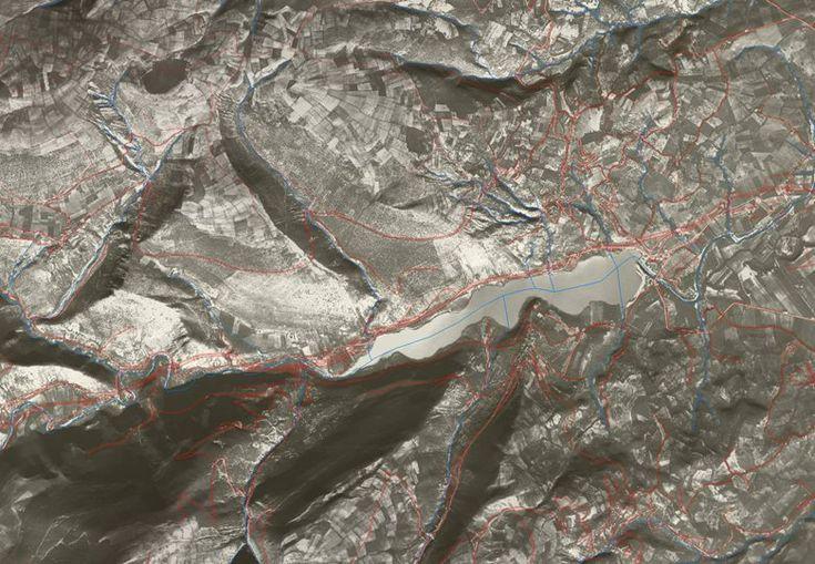 Ortofoto '50 per Piani di Gestione dei siti Natura 2.000 (SIC e ZPS) del Maceratese, Camerino, 2004 - Alberto Antinori