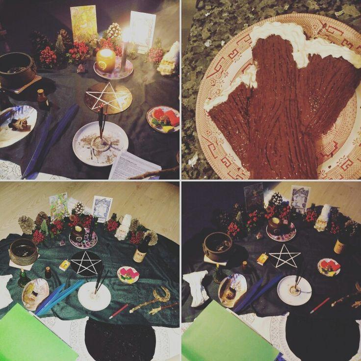 Yuletide blessings altar