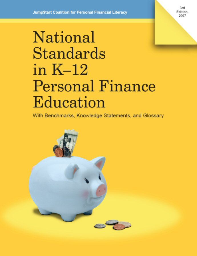 National Standards in K-12   Personal Finance Education  (PDF)