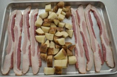 Oven-Baked Bacon & Potatoes from SouthernPlate