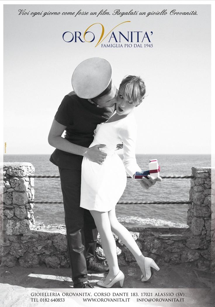 """""""Vivi ogni giorno come fosse un film. Regalati un gioiello OroVanità""""  [Produzione a cura di #UauCollective]  #adv #orovan2012 #gioielli #fashion"""