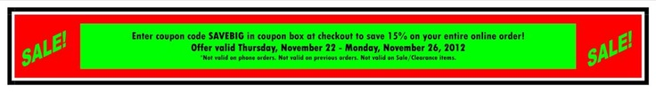 John Deere Black Friday Sale - This sale will save you 15% on  your entire online order for John Deere toys, gifts and clothing at www.GreenFarmToys.com - November 22 - 26, 2012!