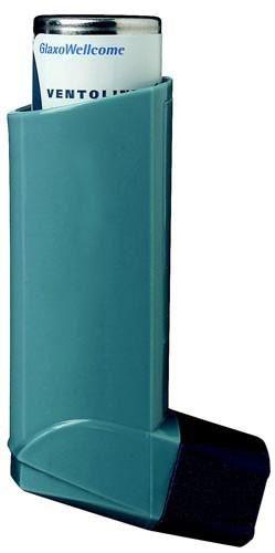 Ilustrační obrázek léčiva Ventolin Inhaler N. Příbalový leták Ventolin inhaler N naleznete na http://www.pribalovy-letak.cz/126-ventolin-inhaler-n