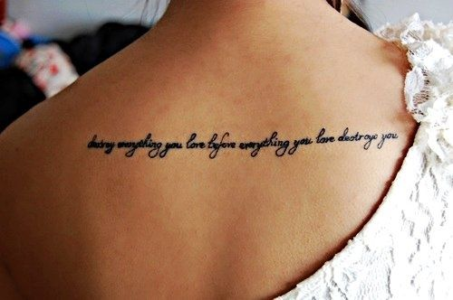 meaningful tattoo quotes about love quotesgram