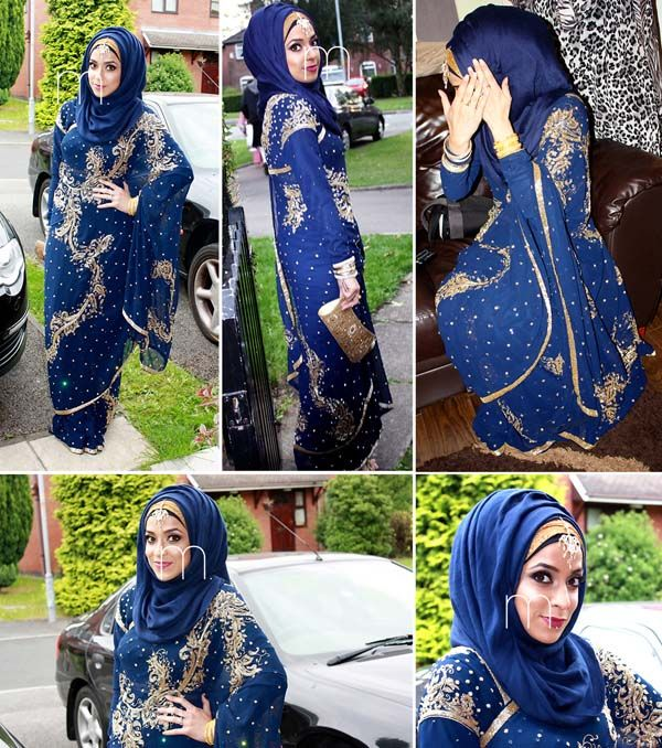 New and Exciting Hijab Styles For Wedding #hijab fashion