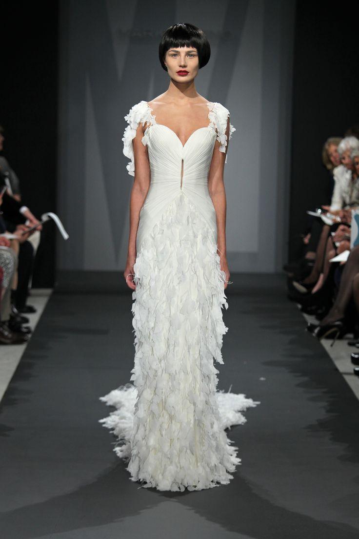 134 best Mark Zunino images on Pinterest | Wedding frocks, Short ...