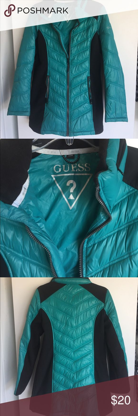 Guess Goose Down Feather Jacket Guess Jacket Size Small Guess Jackets & Coats