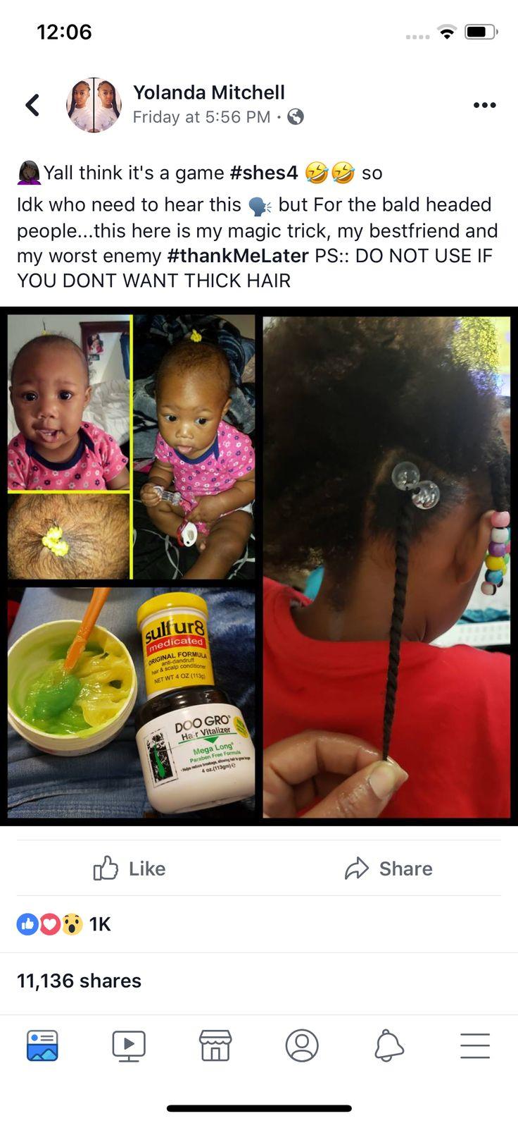 Kids hair to grow