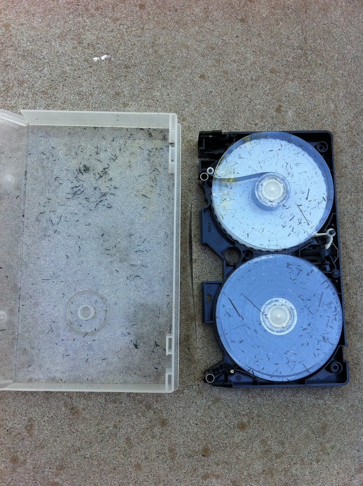 Video Tape Ruined  Transfer to DVD before it's too late!  www.creativephotovideo.comTape Ruins, Ruins Transfer, Videos Tape