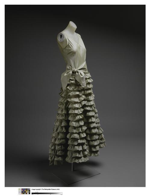 Robe du soir Lanvin Jeanne (1867-1946) Etats-Unis, New-York (NY), The Metropolitan Museum of Art