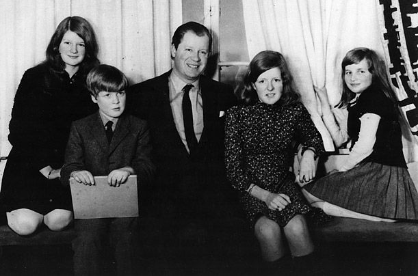 Time-Diana, Princess of Wales:  Spencer Family 1970-Sarah, Charles, Viscount Althorp (John-became 8th Earl of Spencer 1975), Jane, Diana