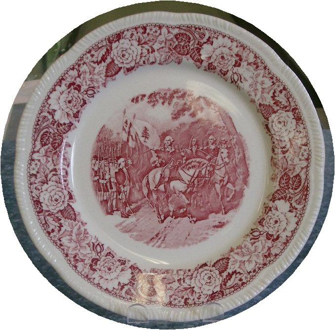 Homer Laughlin Historical America 10  Dinner Plate  sc 1 st  Pinterest & 269 best D WV Homer Laughlin China Plate Patterns - Newell W V ...