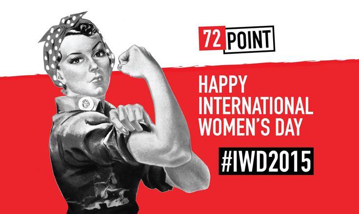 Social media graphic for #InternationalWomensDay 2015 #IWD2015