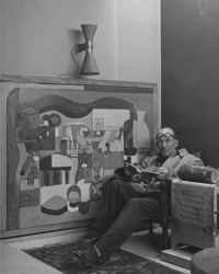 Round Glasses: I have been looking at old photos today. Here are some of my favourites of Le Courbusier...[design blog]