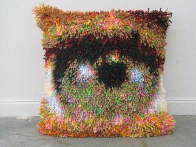 """""""J. Spacemans Left Eye"""" by artist Karl Erickson 24 x 24 2008"""