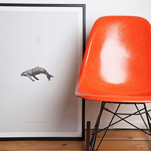 Whale Reprise poster by Paper Collective.
