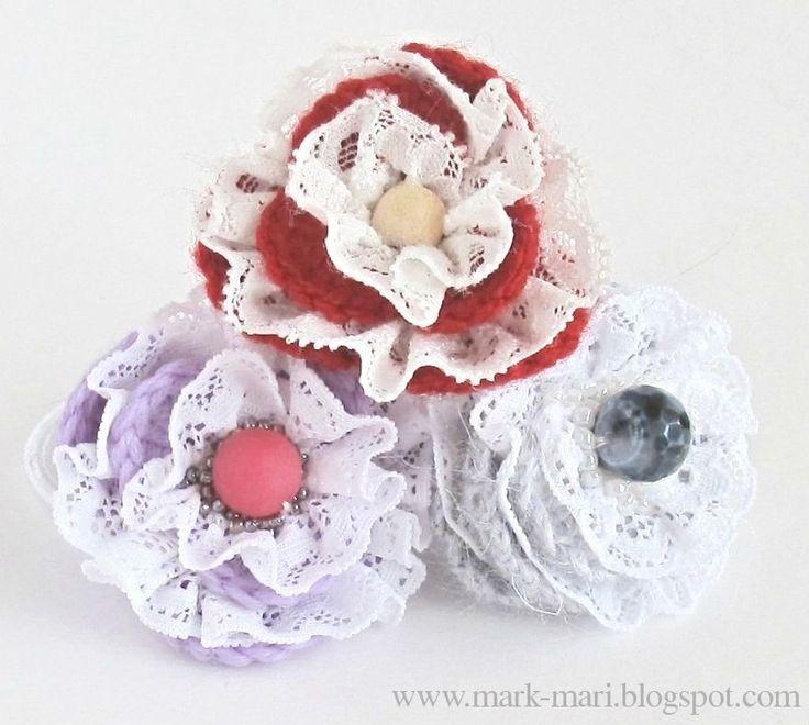 Mark-Mari: Lace flowers